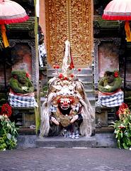 Bali.  Batu Bulan, Barong Tanz 1. ©UdoSm