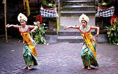 Bali.  Batu Bulan, Barong Tanz 3. ©UdoSm