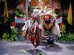 Bali.  Batu Bulan, Barong Tanz 7. ©UdoSm