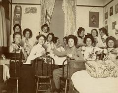 Breakfast in the Women's Dorm