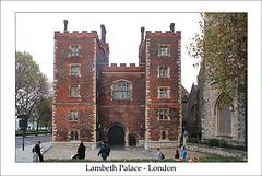 Lambeth Palace - London - 30.10.2014