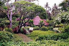 Bali, Hotel im tropischen Garten. ©UdoSm