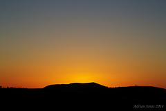 Corndon Hill Sunset