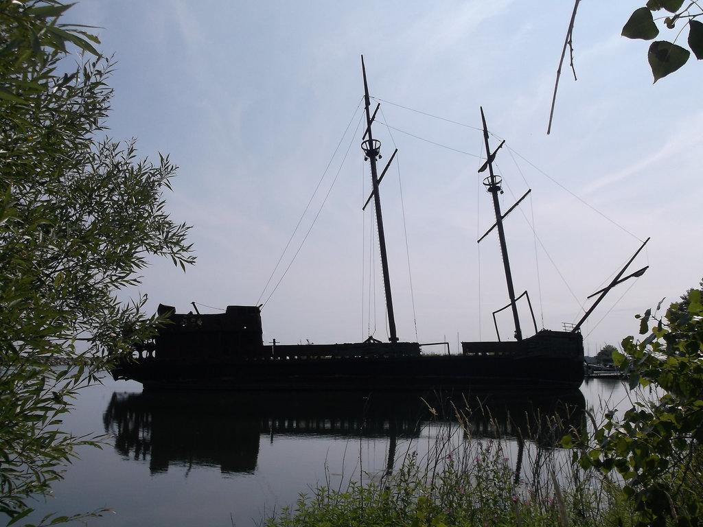 Épave de bateau fantôme