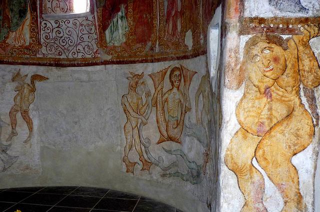 Die Bestiarien: romanische Fresken in Kastelaz bei Tramin