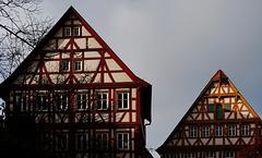 Fachwerk-Kontraste   -   Half-Timbered Houses