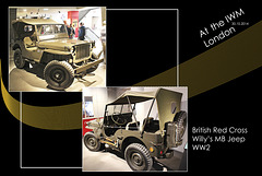 IWM British Red Cross Willy's Jeep - 30.10.2014