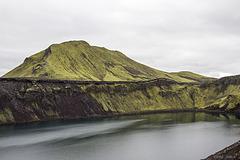 Bláhylur caldera