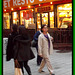 Gourmet chinese Lady in high heels - Recadrage