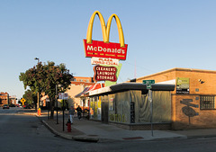 McDonald's restaurant built upon soils contaminated by tetrachloroethylene.