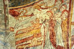 Apocalypse - Fresques de l'église de Gargilesse