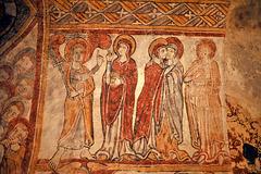 Fresques de l'église de Gargilesse