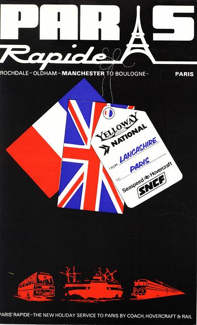 Paris Rapide 1976 cover