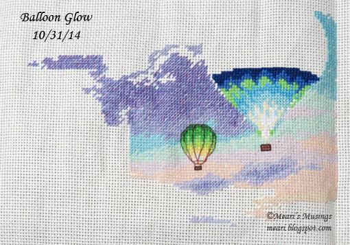 Balloon Glow 10/31/14