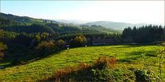 Ma maison sur la colline / My house on the hill