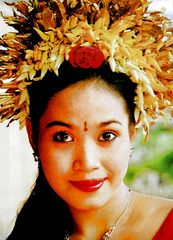 Bali.  Batu Bulan, Im Theater. ©UdoSm