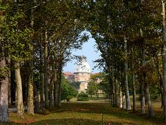 Villa Piantelli in veste autunnale