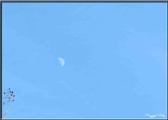 .. moon over