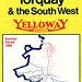 Yelloway Devonian Service timetable cover - Summer 1969