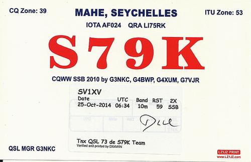 QSL S79K IOTA AF-024