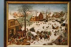 """Le dénombrement de Bethléem"" (Pieter Brueghel I)"
