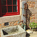 Hamptonne - Water pump and stone trough