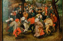 """Danse de noce en plein air"" (Pieter Brueghel, le Jeune)"