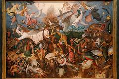 """""""La chute des anges rebelles"""" (Pieter Brueghel, l'Ancien)"""