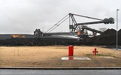 Coal moving