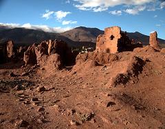 Ruins of an old Kashbah - Telouet