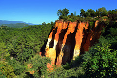 Les ocres du Roussillon / The ochres of Roussillon