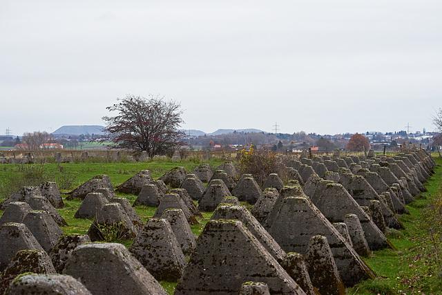 Siegfriedlinie-Westwall bij Aken , Vetschau _Germany