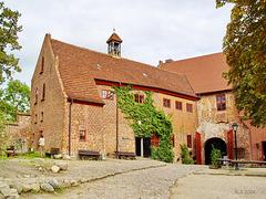 Penzlin, Burg mit Hexenkeller