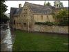 Holywell in the rain