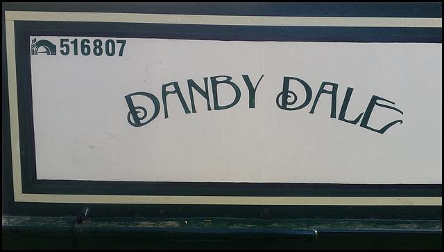 Danby Dale narrowboat