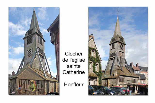 Bell tower of Sainte Catherine - Honfleur - 24.10.2010