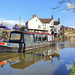 Traffic back on the Shropshire Union canal