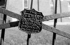 """The Stewart Iron Works & Co. - Cincinnati Ohio"" [église à Noyan]"
