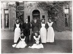 Senior Staff, Bulwell Hall, Nottinghamshire (Demolished)(2)