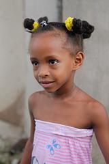 Lucrecia, a young girl in Santiago de Cuba