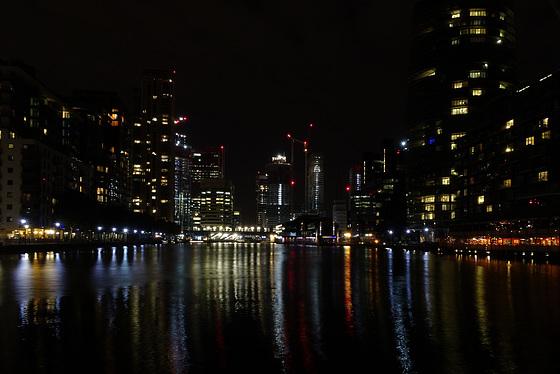 Docklands @ night