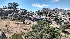 La Sierra de La Cabrera granite