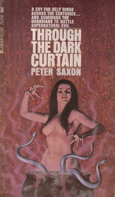 Peter Saxon - Through the Dark Curtain