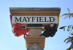 Mayfield Village Sign