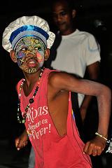 Mask dancing in Santiago de Cuba