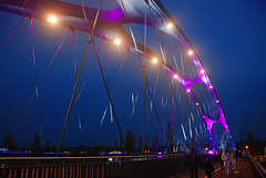 HFF Happy Fence Friday  -  Osthafenbrücke Frankfurt