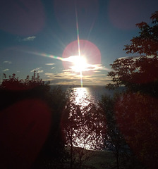Lever de mer sur Carleton....