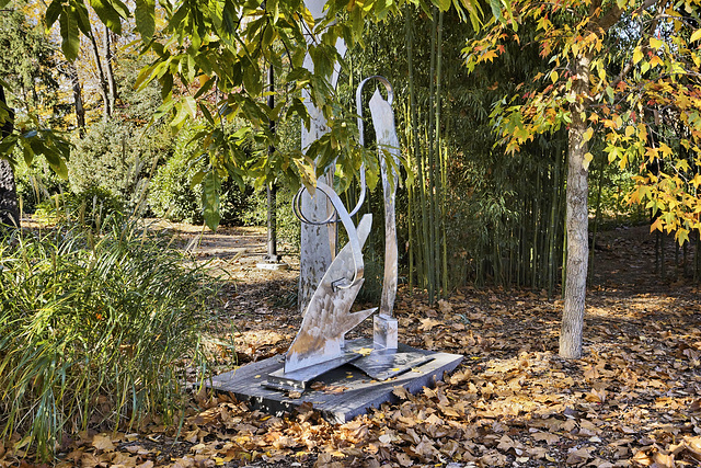 """Loquacious Three"" – Grounds for Sculpture, Hamilton Township, Trenton, New Jersey"