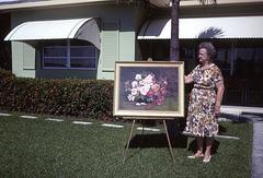 Ethel's Oil Painting, 1967
