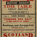The 'Roadway Motor Coach Timetable' - Summer 1932 cover